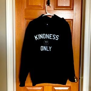 Homie Kindness Only hoodie size small;